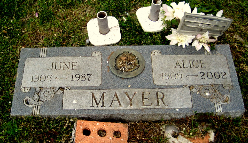 Alice Anna <i>Mehnert</i> Mayer