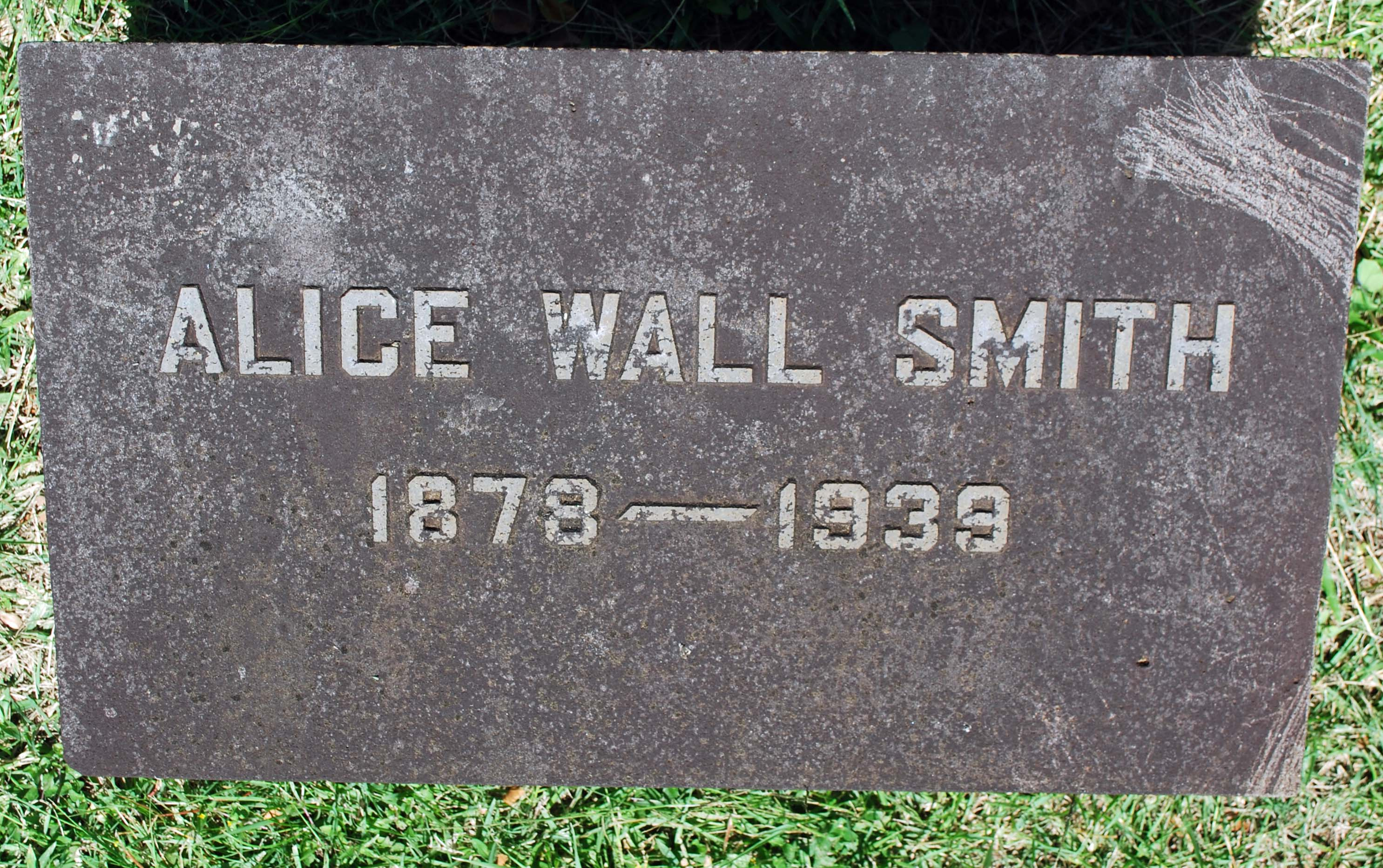 Alice Wall Smith
