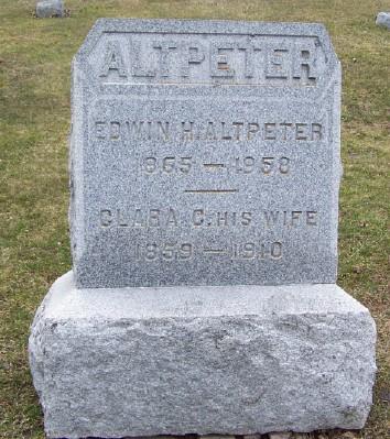 Edwin H Altpeter