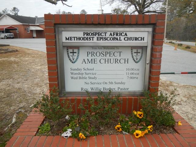Prospect AME Church Cemetery