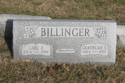 Gertrude L. <i>Kraemer</i> Billinger