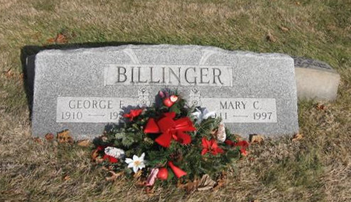 Mary Catherine <i>McNulty</i> Billinger