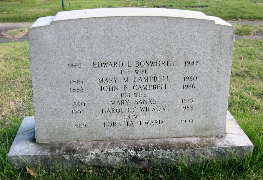 Mary M. <i>Campbell</i> Bosworth