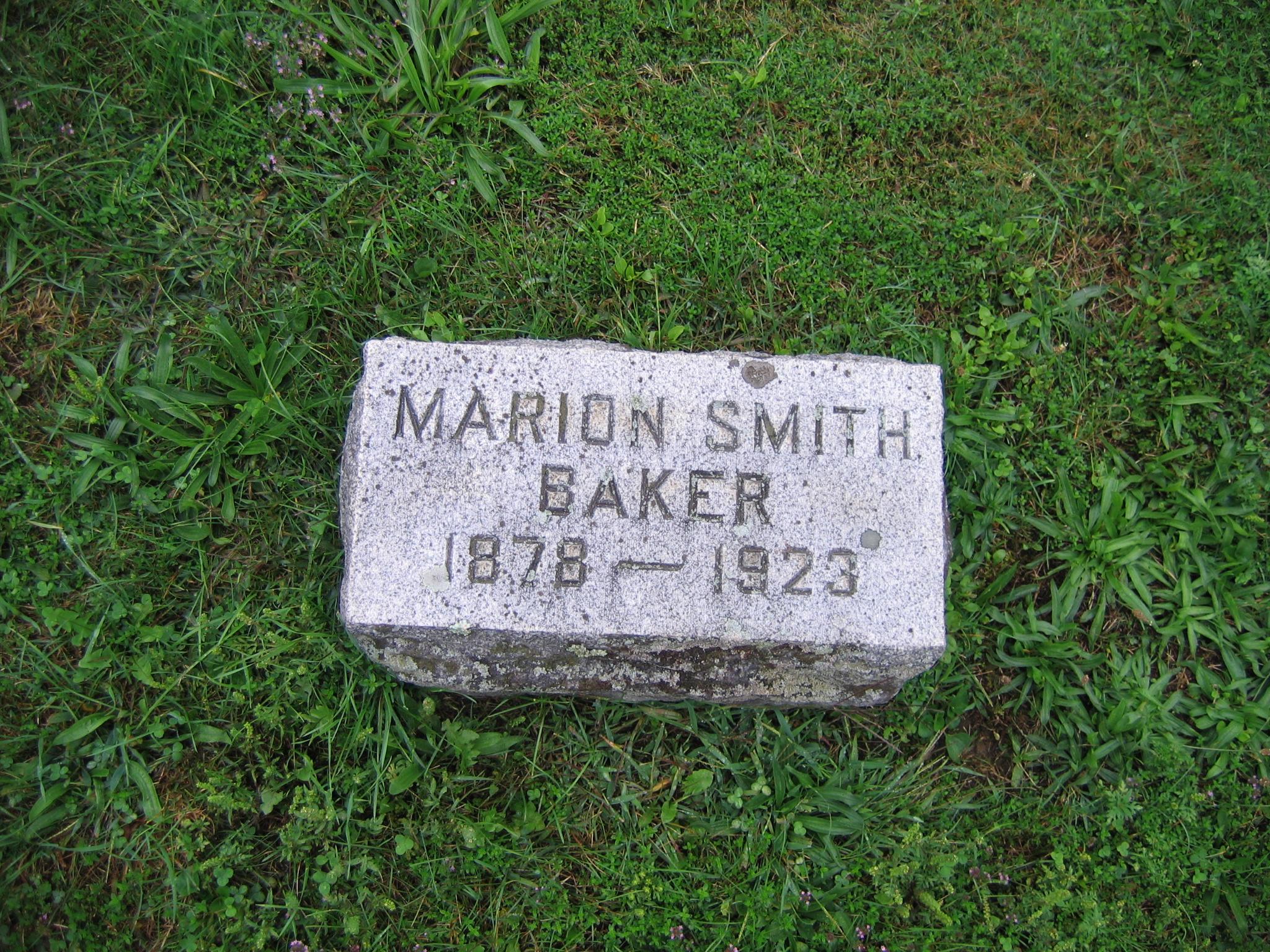 Marion Anna <i>Smith</i> Baker