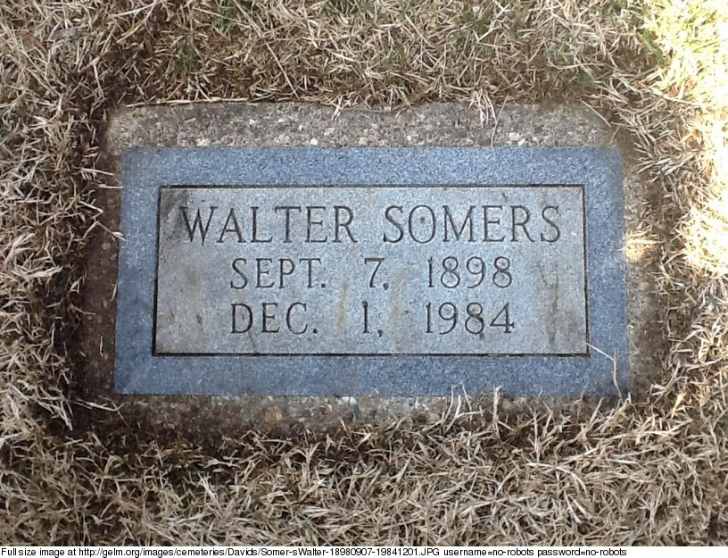 Walter Charles Somers