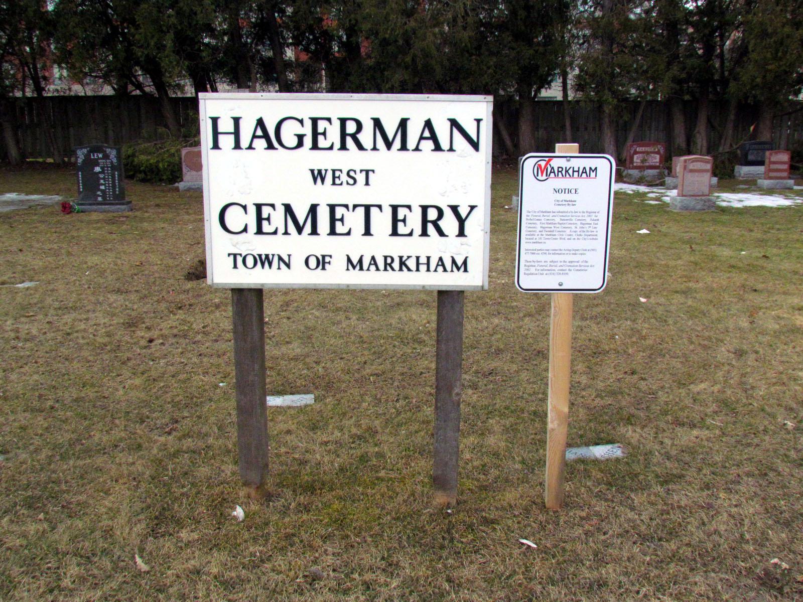 Hagerman West Cemetery