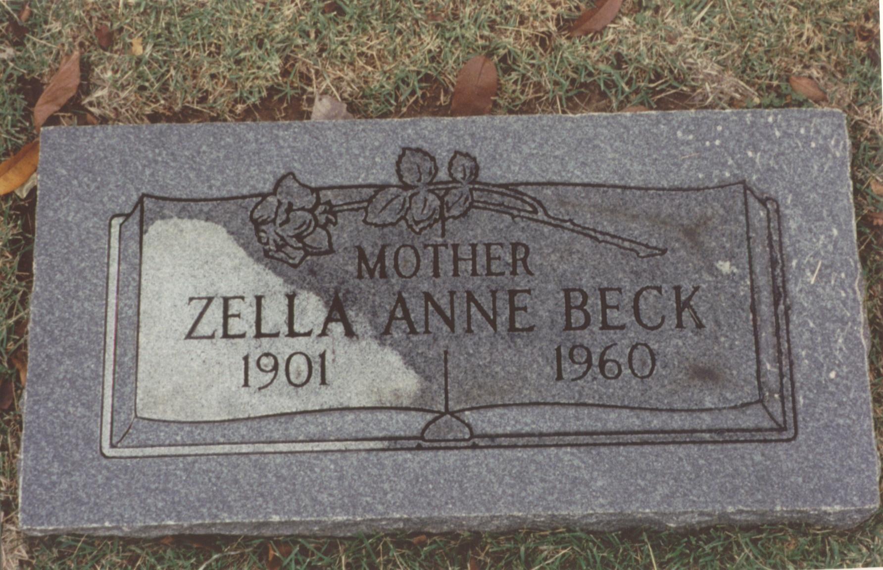 Zella Anne <i>Ramsey</i> Beck