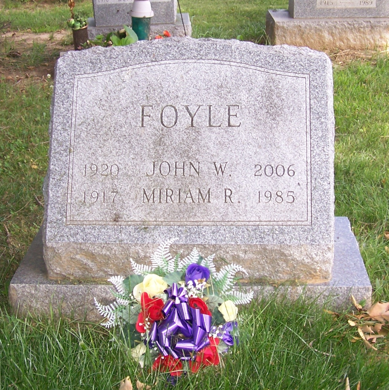 John W Foyle