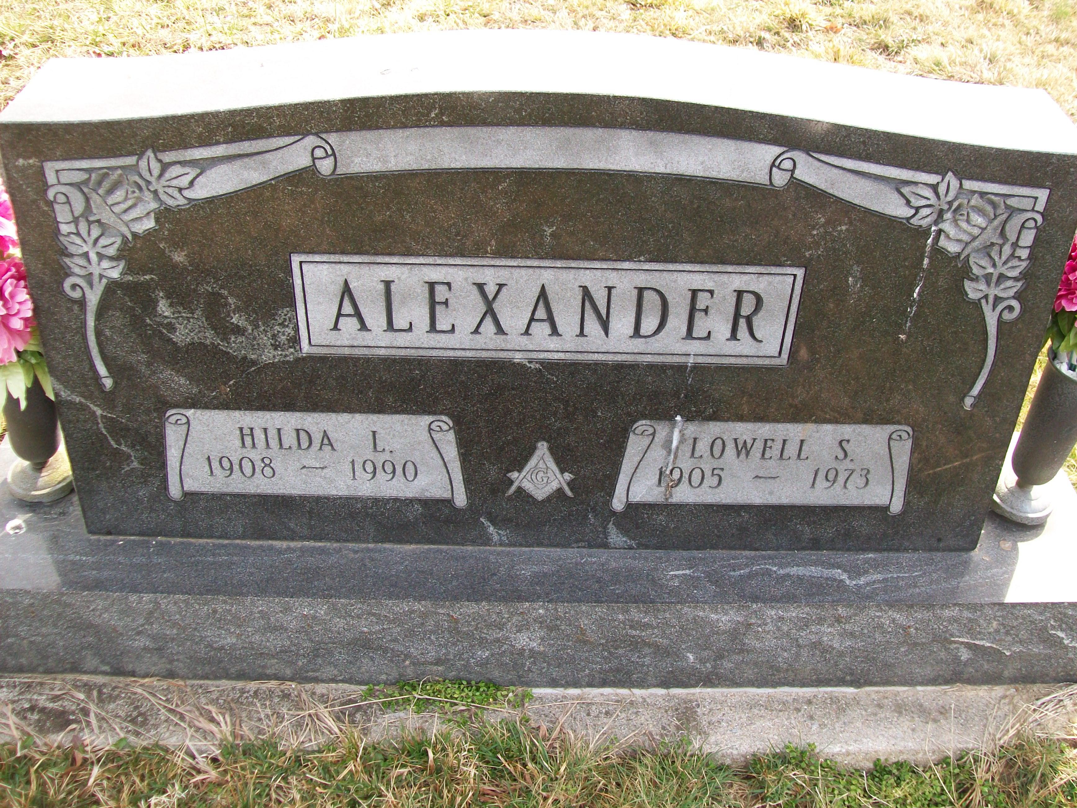 Hilda <i>Plake</i> Alexander