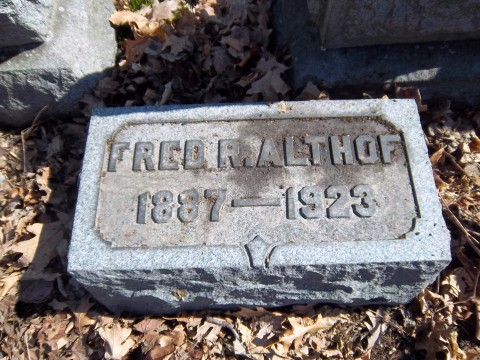 Fred R Althof