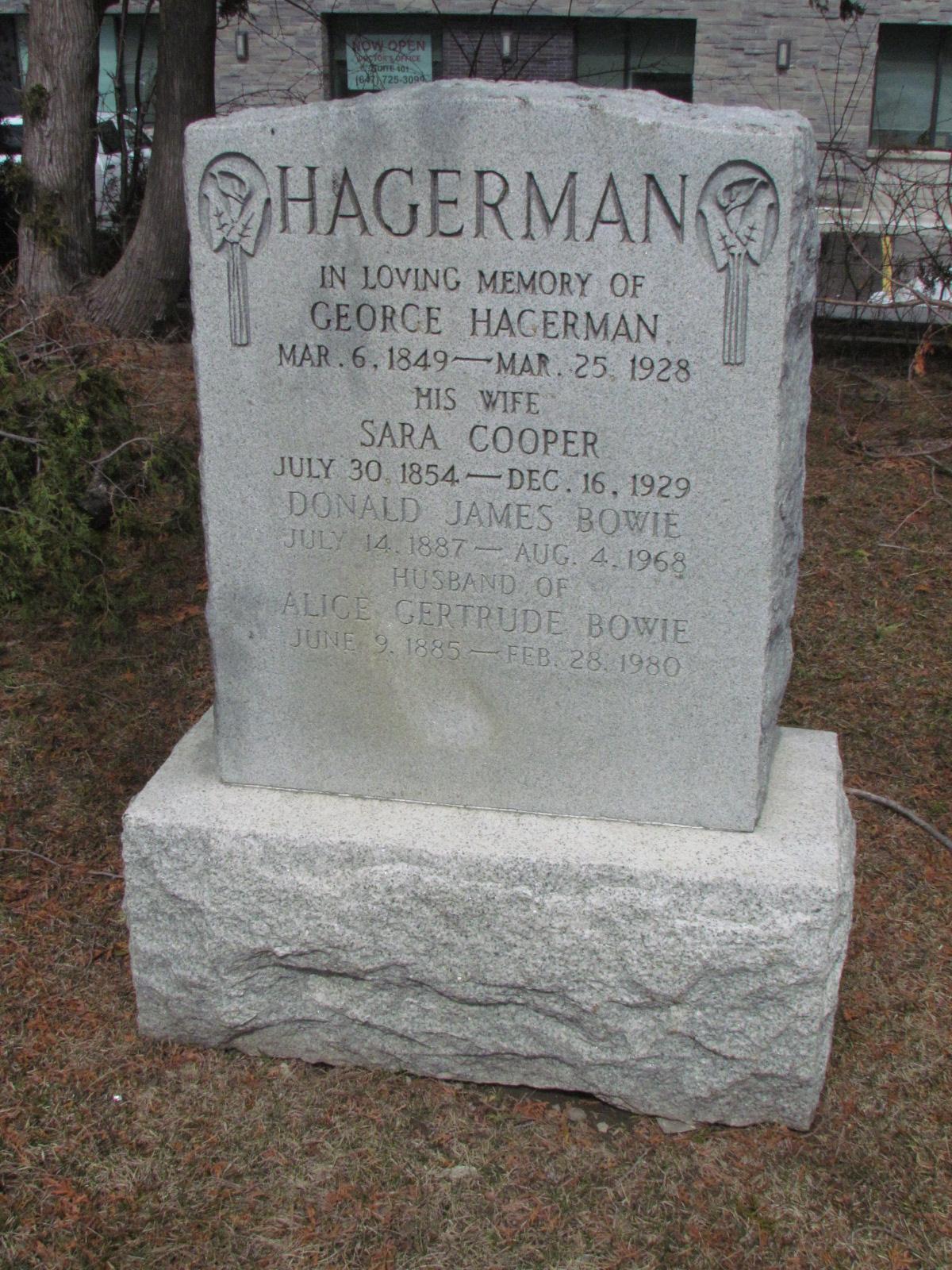 Alice Gertrude <i>Hagerman</i> Bowie