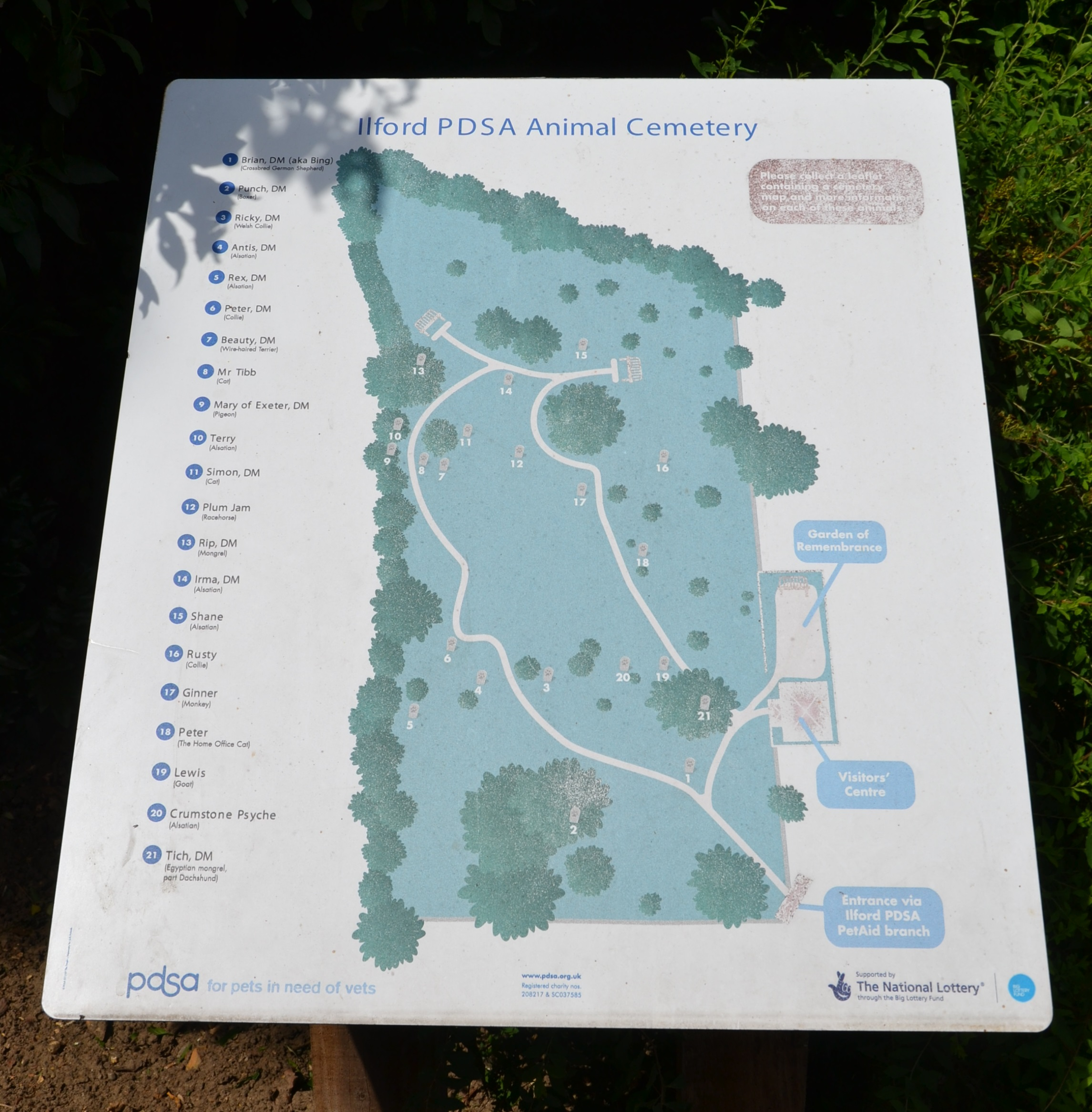 Ilford Animal Cemetery