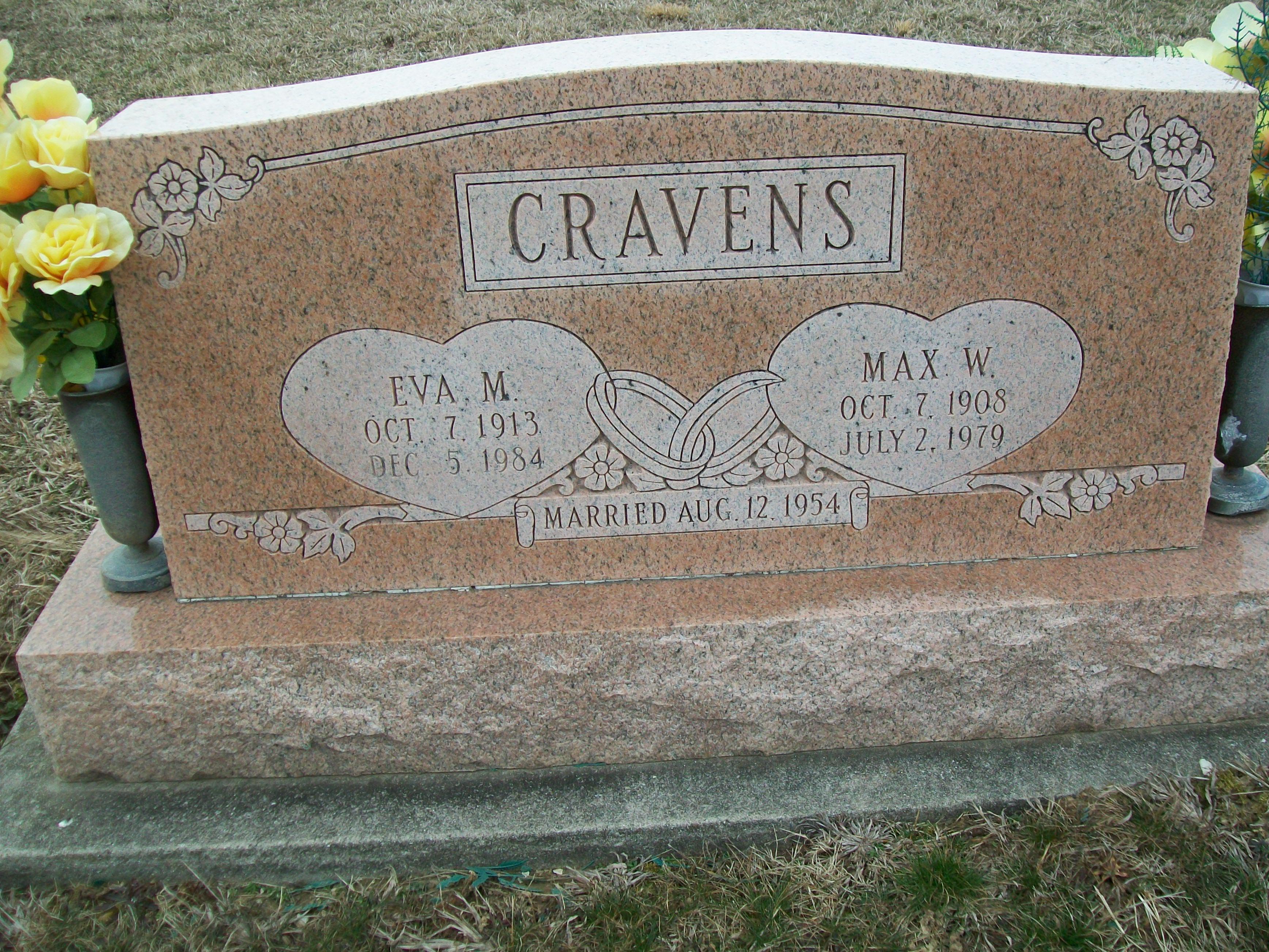 Eva Marie <i>Waldon</i> Cravens