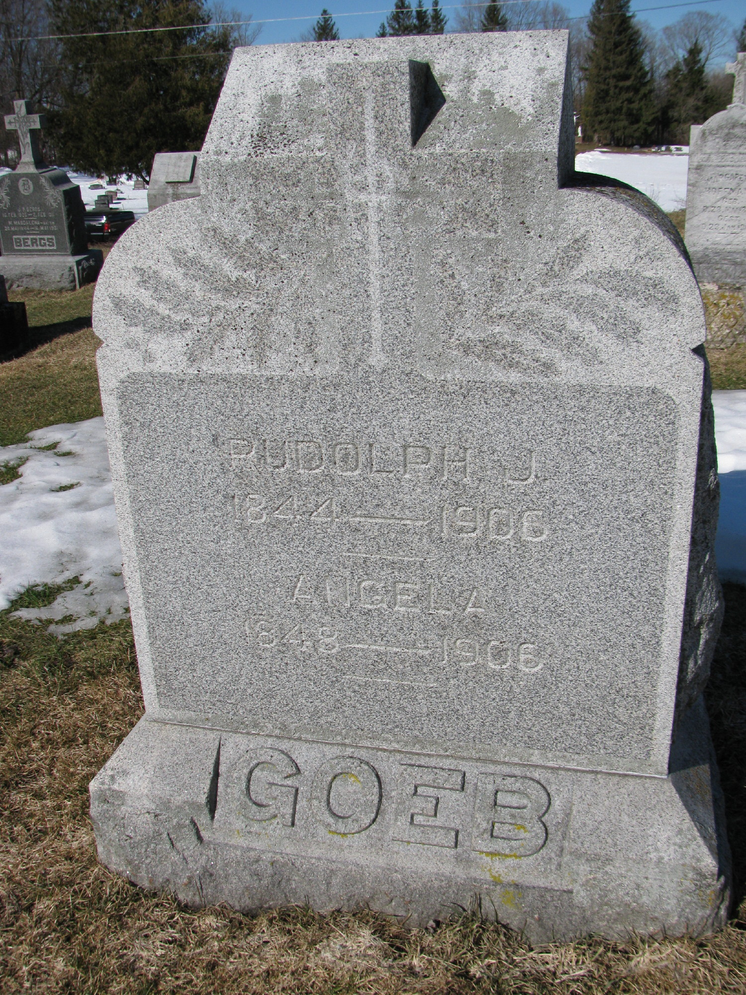 Rudolph Joseph Goeb