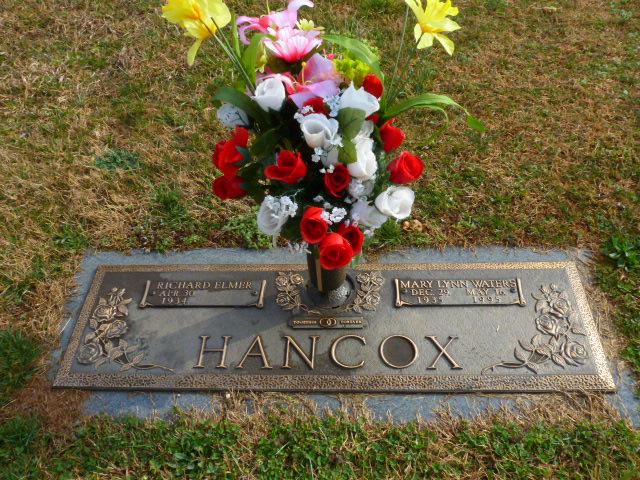Mary Lynn <i>Waters</i> Hancox