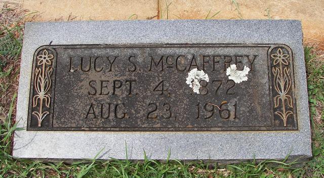 Lucy Ellen <i>Spangler</i> McCaffrey