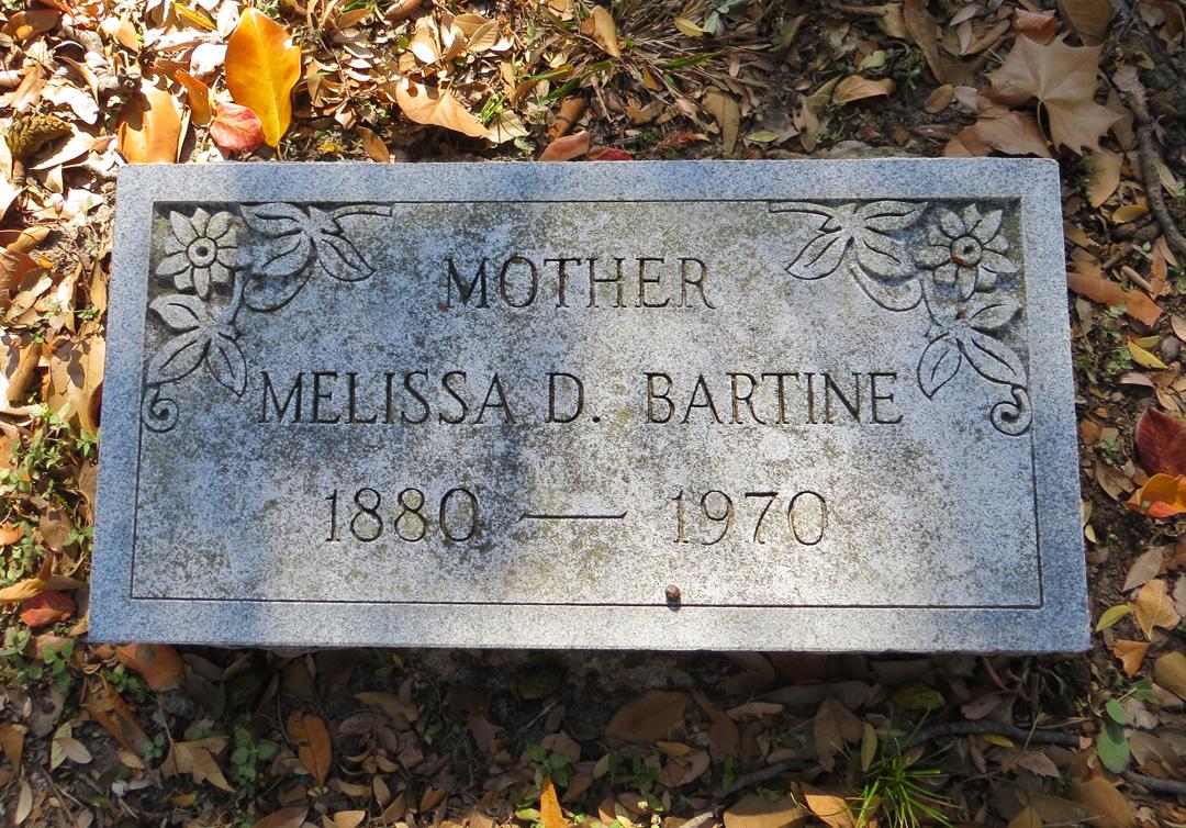 Melissa D <i>Miller</i> Bartine