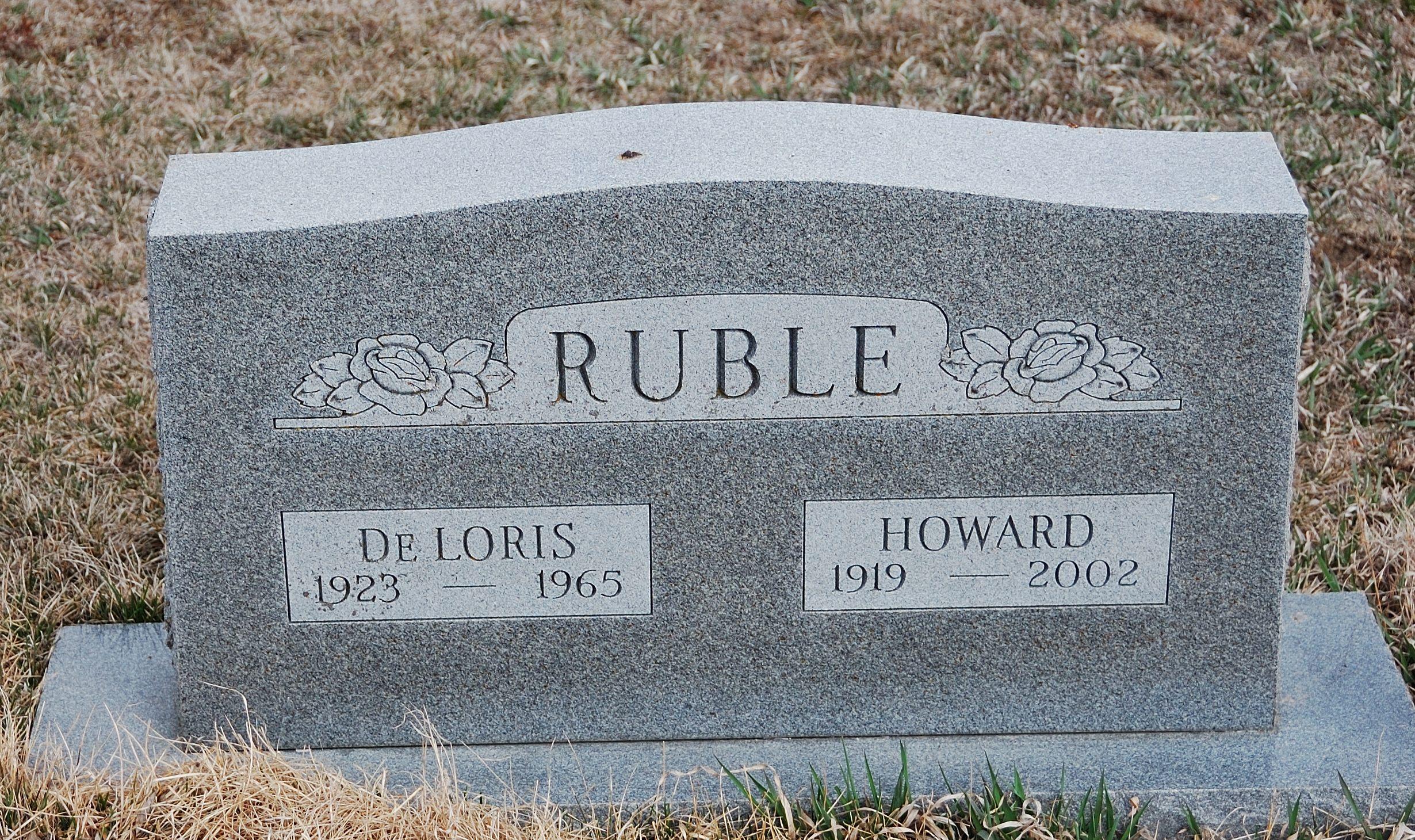 Howard Everett Ruble