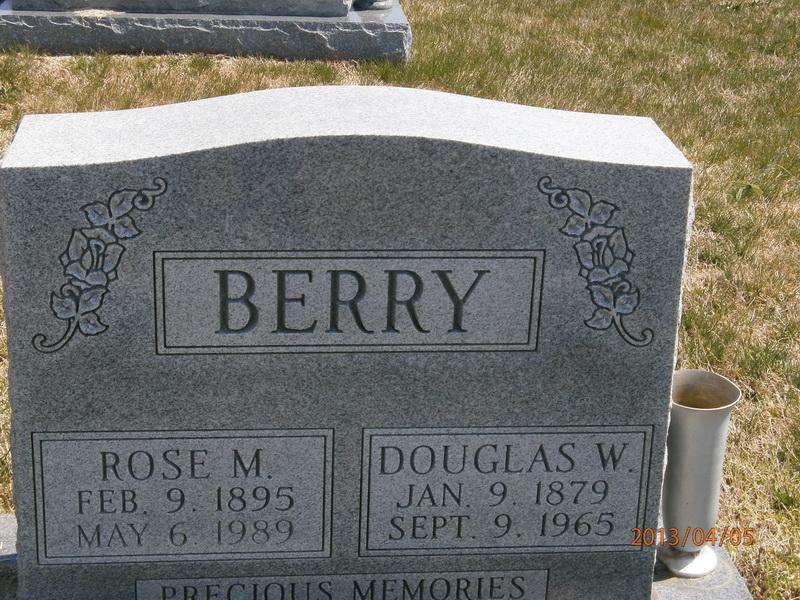 Rose Matilda <i>Buckman</i> Berry