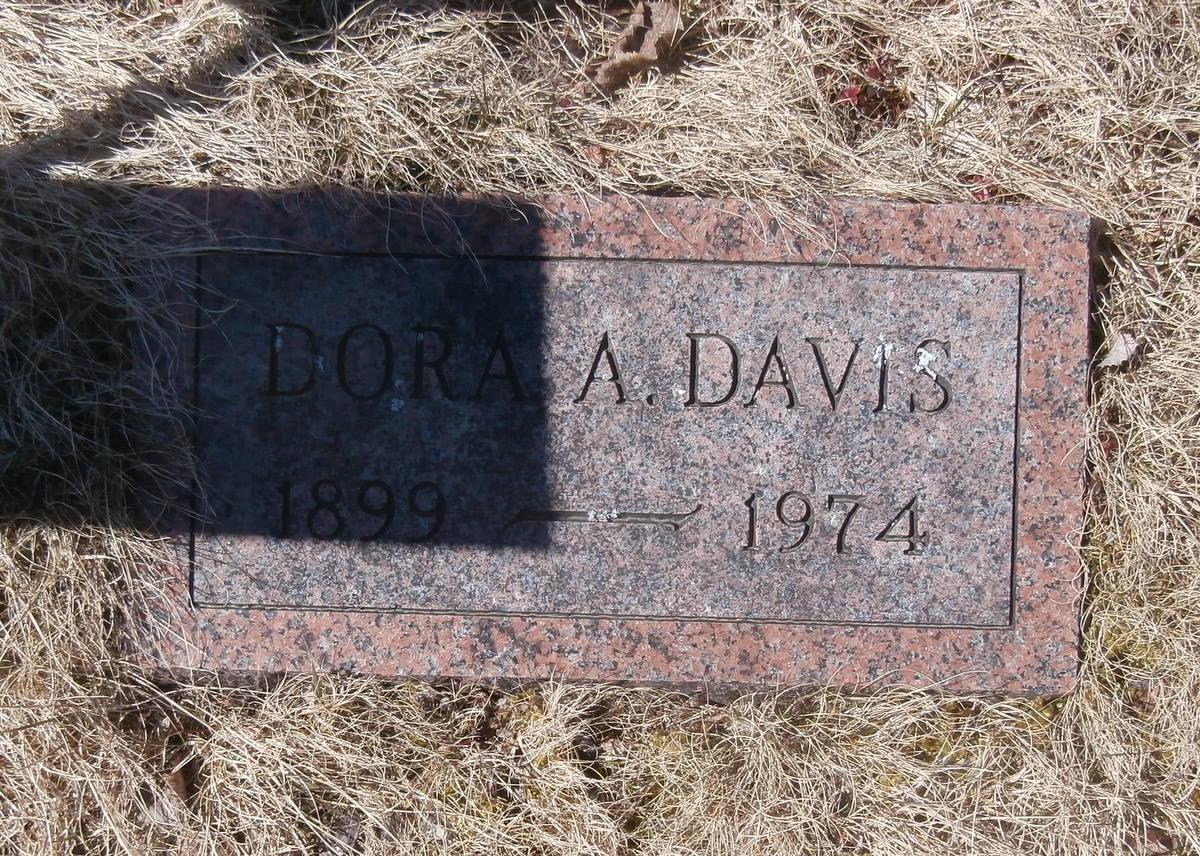 Medora A Dora <i>Beal</i> Davis