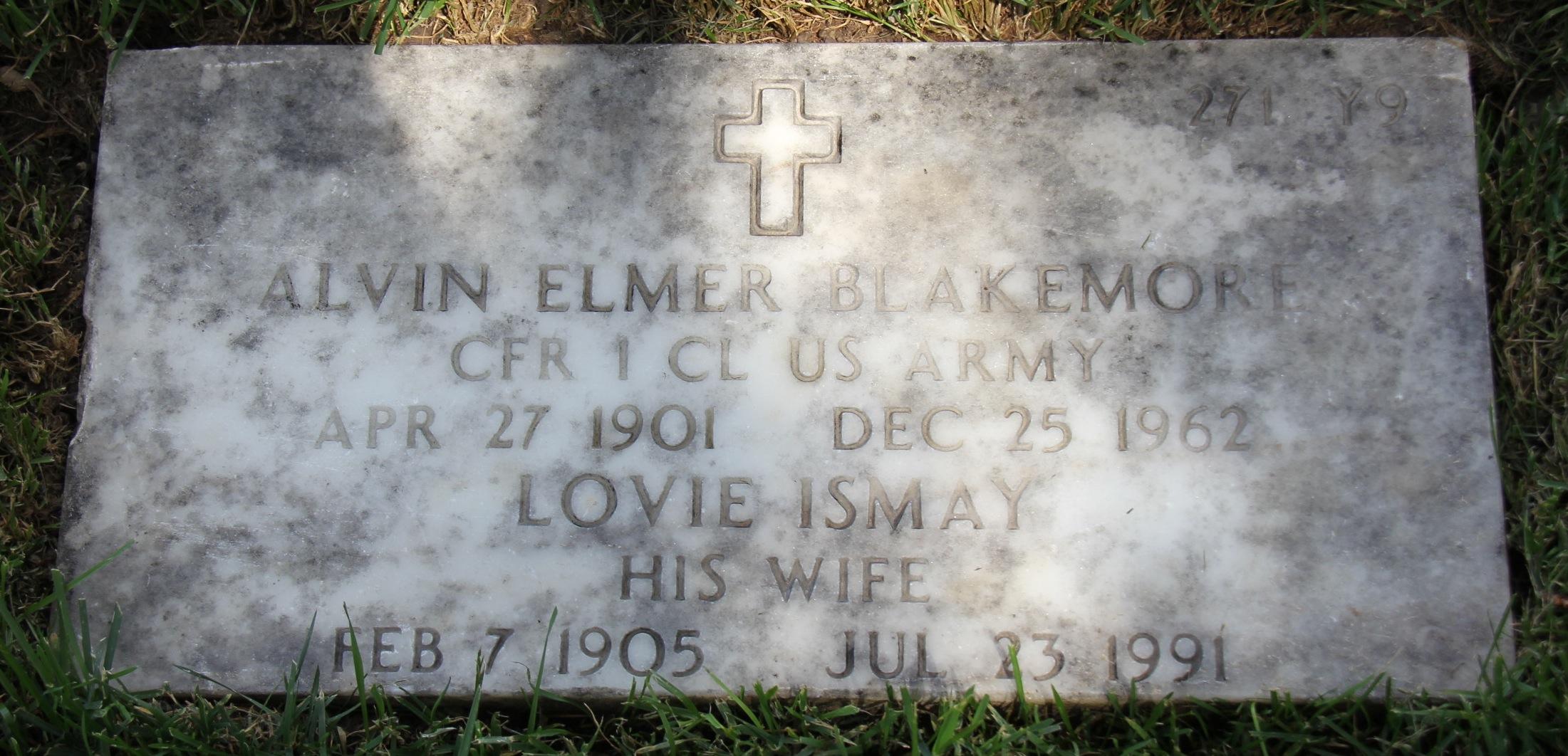Alvin Elmer Blakemore