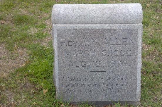 Rev William Allen