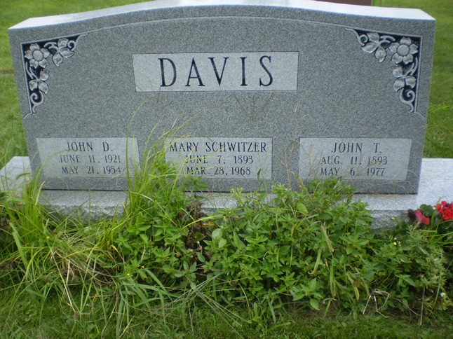 Mary Eva <i>Schwitzer</i> Davis