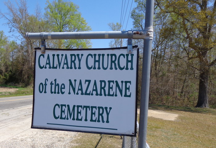 Calvary Church of the Nazarene Cemetery in Sumter, South