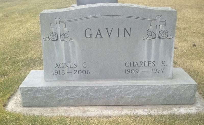 Agnes <i>Byer</i> Gavin
