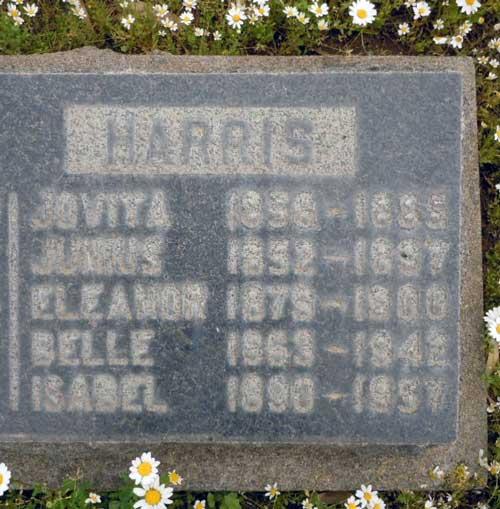 Sarah Belle <i>Lusk</i> Harris