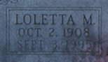 Loletta Mae Leta <i>Mefford</i> Bradshaw