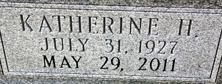 Katherine <i>Hensley</i> Whitaker