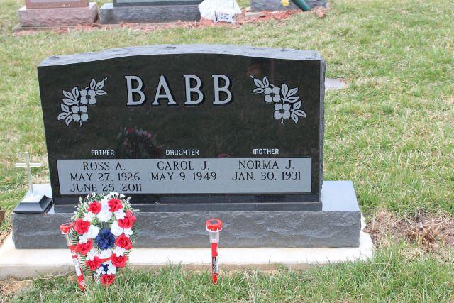 Ross Albert Babb, Sr