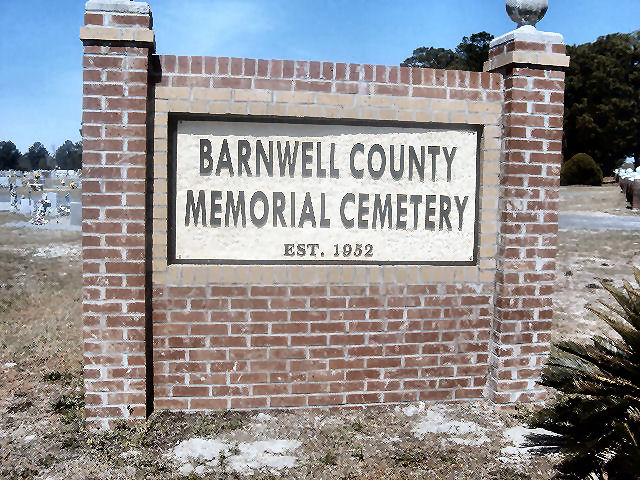 Barnwell County Memorial Cemetery