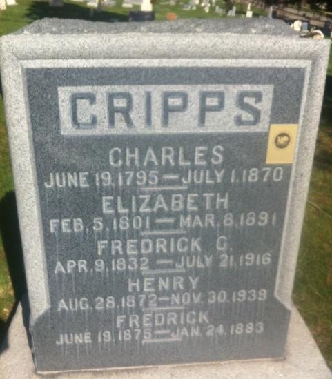 Elizabeth <i>Baker</i> Cripps