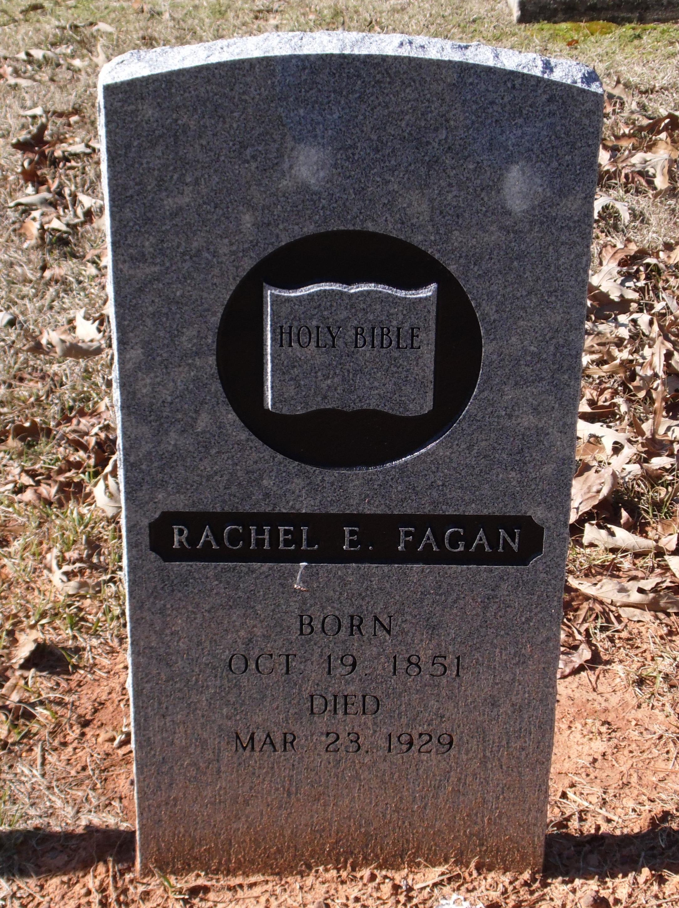 Rachel Etta <i>Elzy</i> Fagan