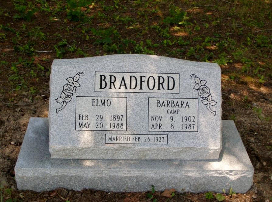 Barbara <i>Camp</i> Bradford