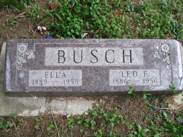 Ella <i>Bouscher</i> Busch