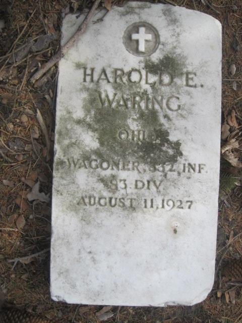 Harold E Waring
