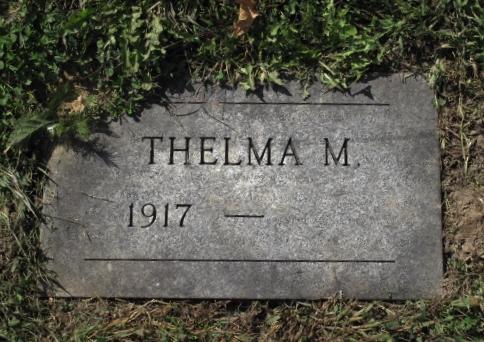 Thelma Margaret <i>Auchey</i> Evans