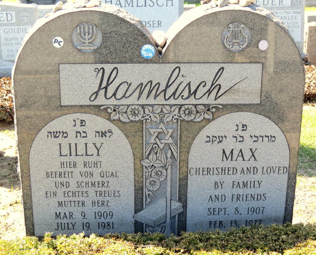Lilly <i>Schachter</i> Hamlisch