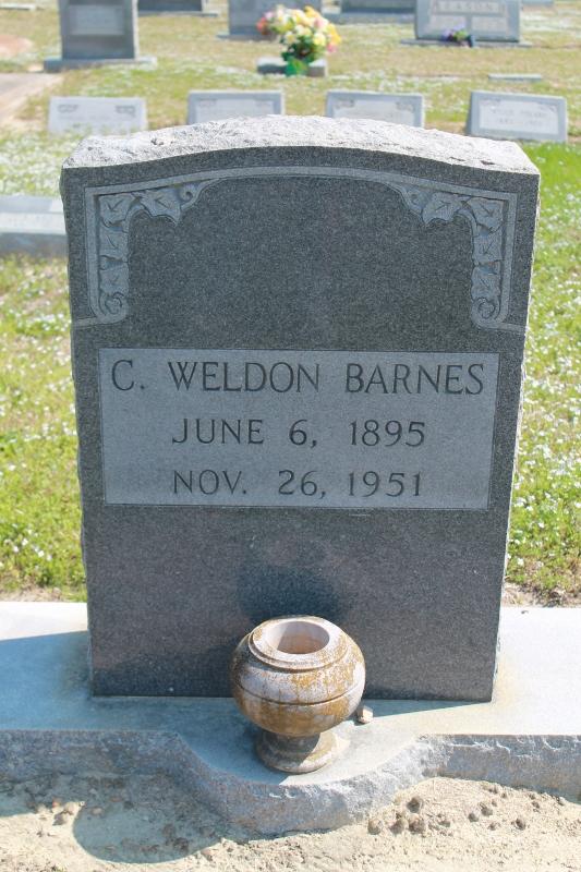 C Weldon Barnes