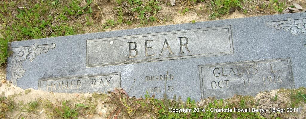 Gladys Lorena <i>Jones</i> Bear