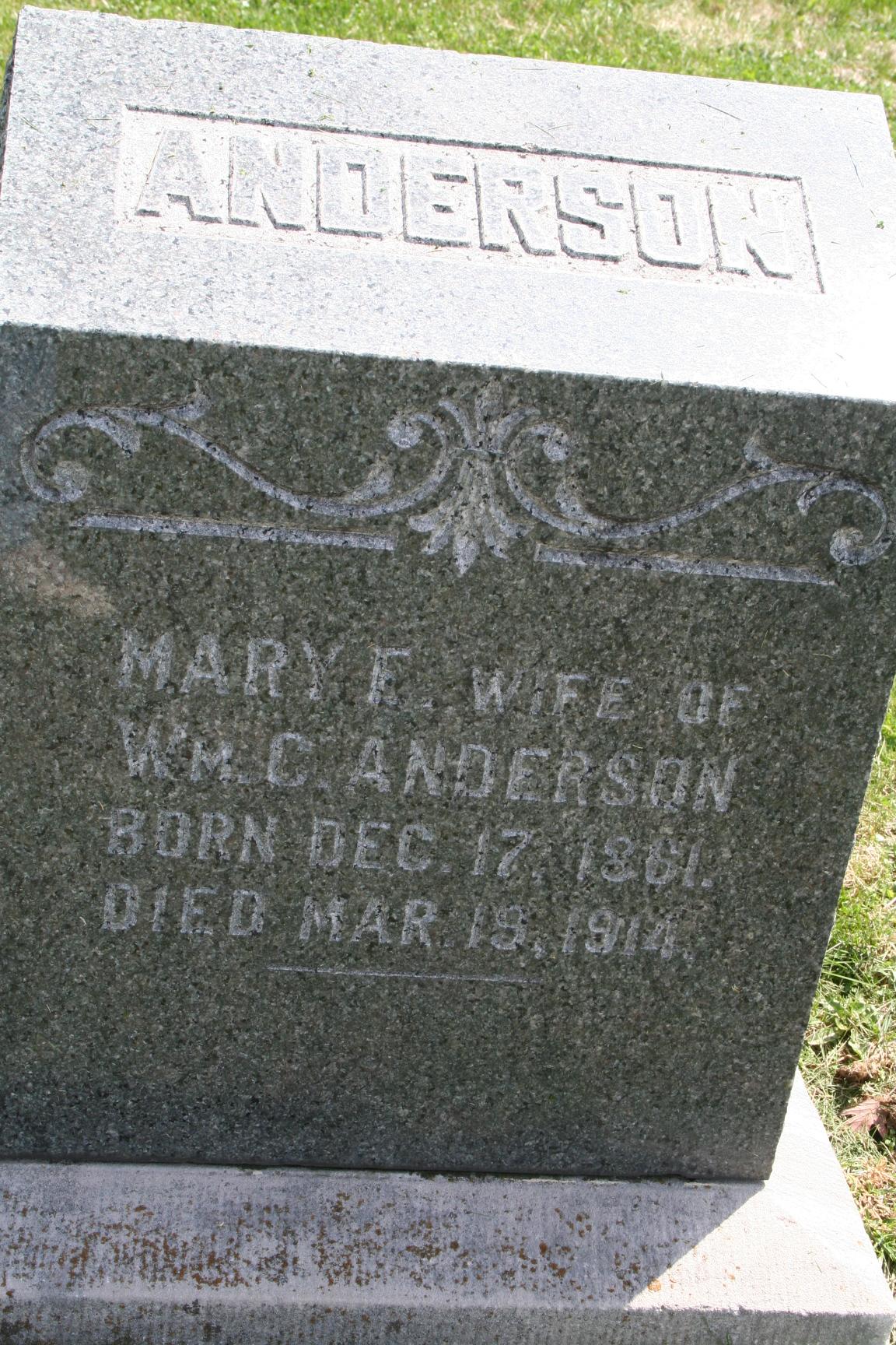 Mary Ellen <i>Quinn</i> Anderson