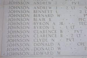 Pvt Clarence Baird Johnson