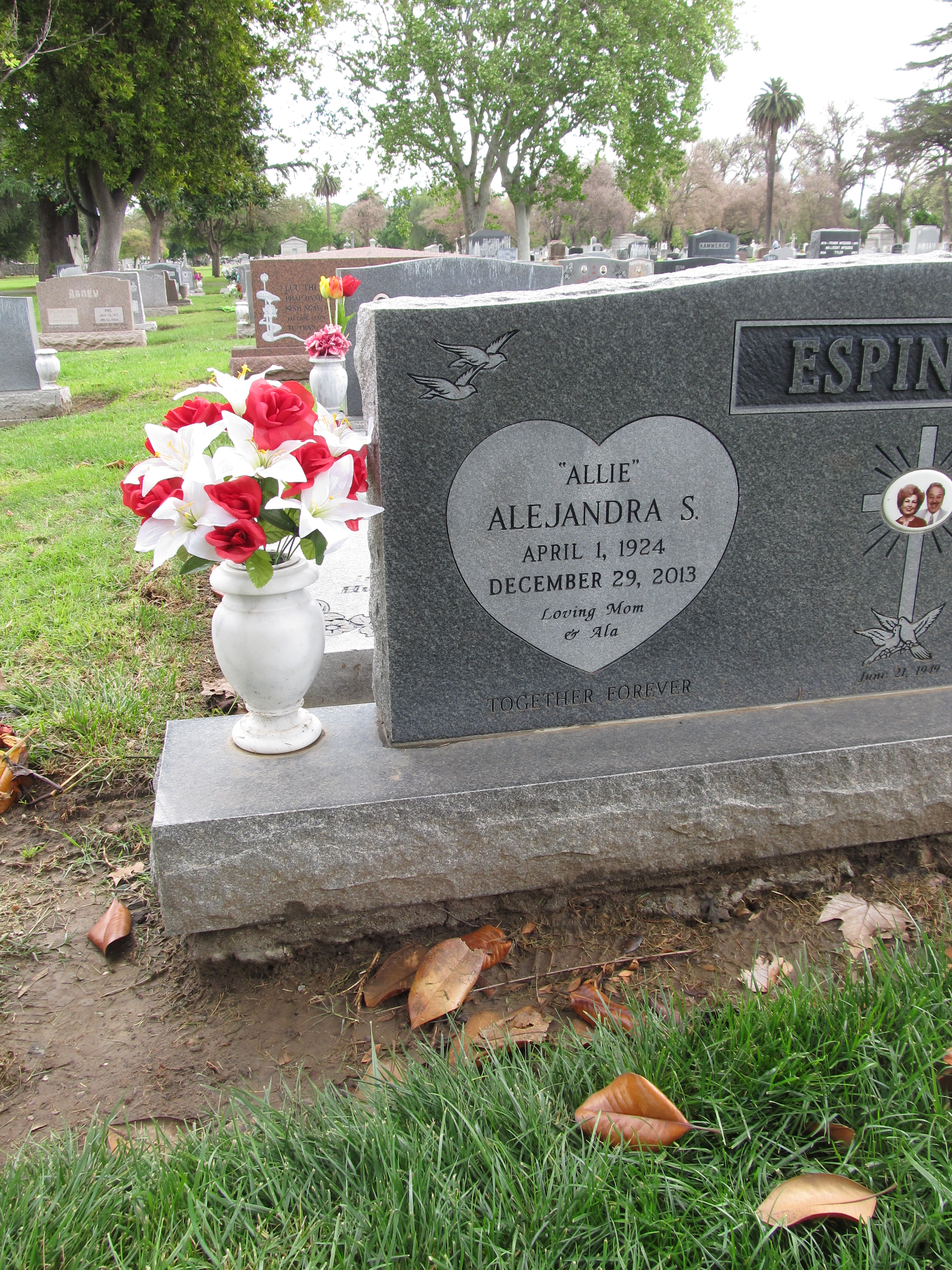 She had no chance to survive. Alejandra Rubio died