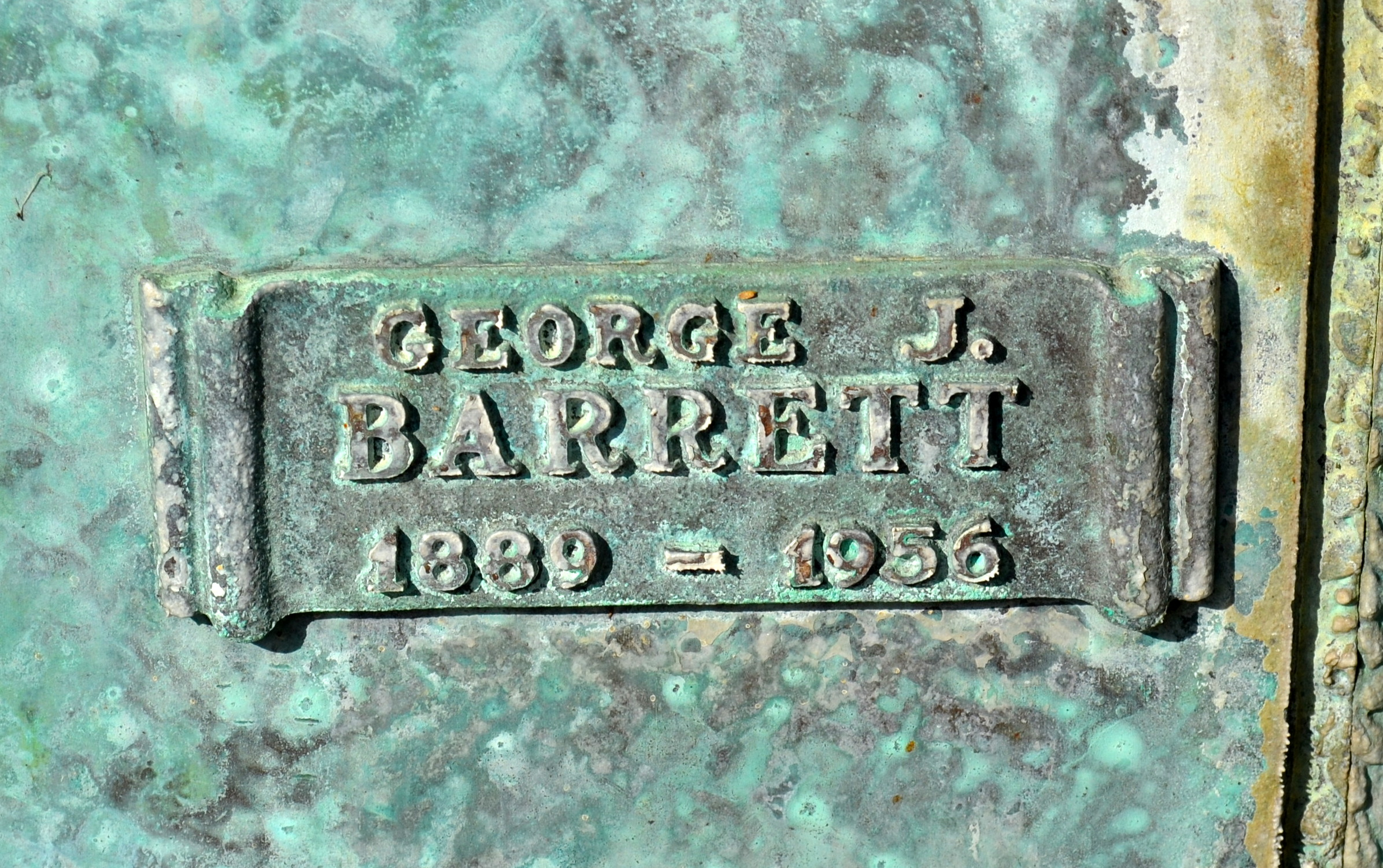 George J Barrett