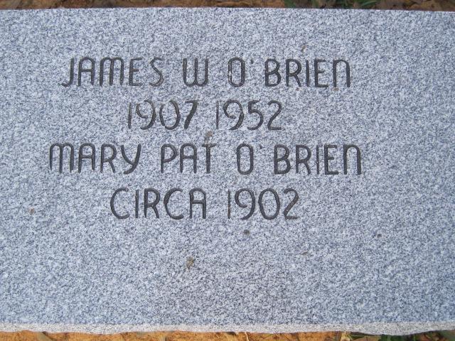 James W O'Brien