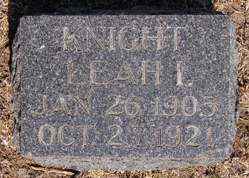 Leah Irene Knight