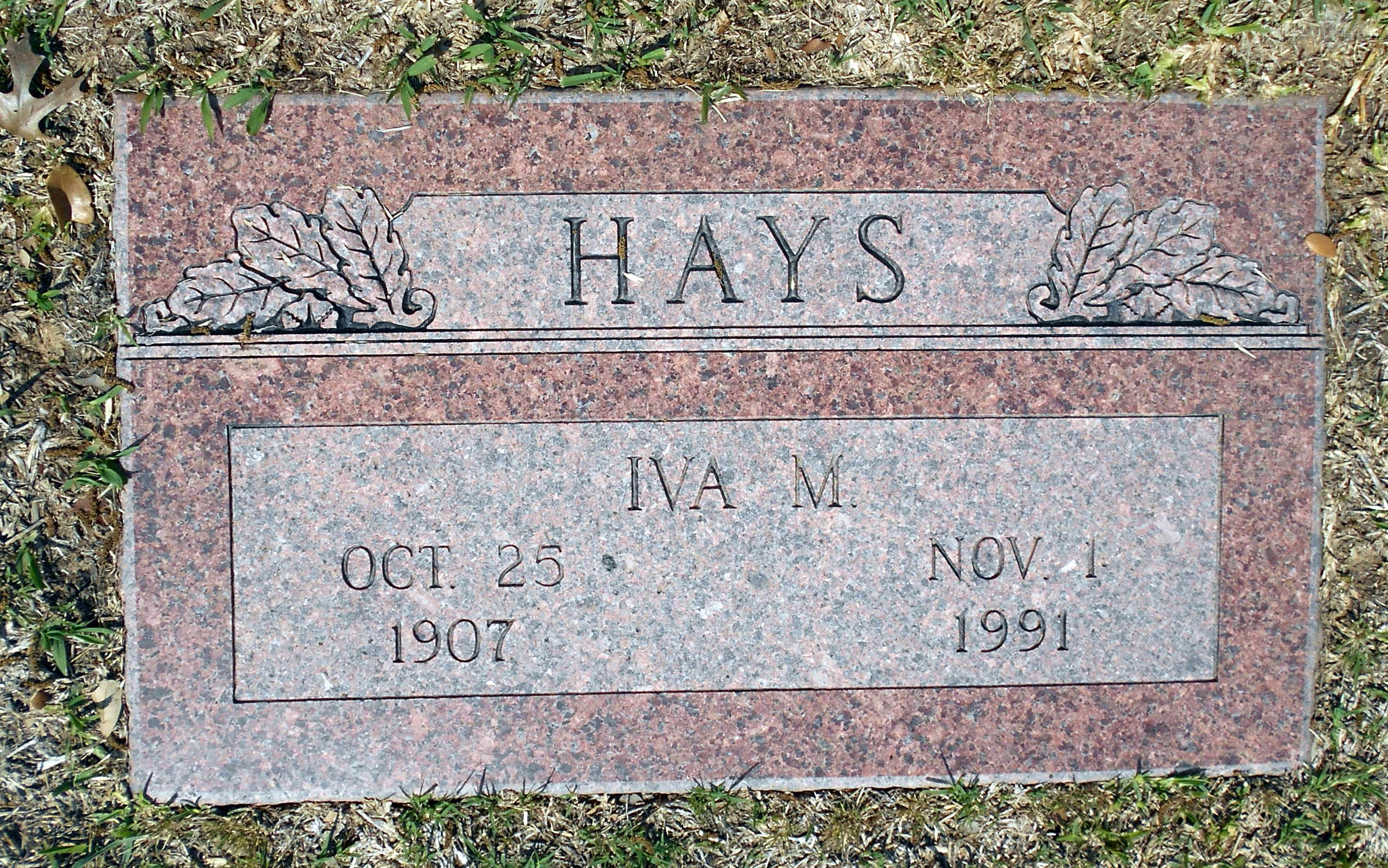 Iva Mae <i>McBride</i> Hays